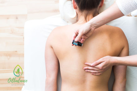 Lindernde Aromaöle-Körperanwendung für Kopf, Muskel & Gelenke